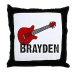 Guitar - Brayden Throw Pillow