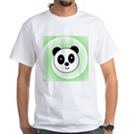 PANDA BEAR White T-Shirt