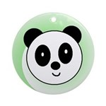 PANDA BEAR Ornament (Round)