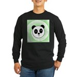 PANDA BEAR Long Sleeve Dark T-Shirt