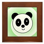 PANDA BEAR Framed Tile