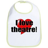 "ThMisc ""I Love Theatre"" Bib"