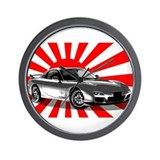 """RX7 Japan"" Wall Clock"