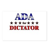 ADA for dictator Postcards (Package of 8)