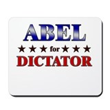 ABEL for dictator Mousepad