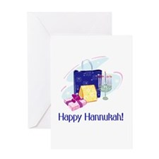 Happy Hannukah! Greeting Card