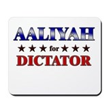 AALIYAH for dictator Mousepad