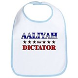 AALIYAH for dictator Bib
