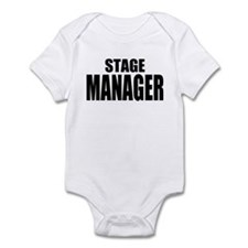 """ThMisc """"Stage Manager"""" Infant Bodysuit"""