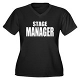 "ThMisc ""Stage Manager"" Women's Plus Size V-Neck Da"
