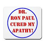 Ron Paul cure-2 Mousepad