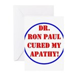 Ron Paul cure-2 Greeting Cards (Pk of 10)