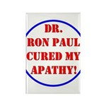 Ron Paul cure-2 Rectangle Magnet