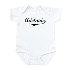 Adelaide Vintage (Black) Infant Bodysuit