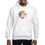 Art Painting Exposed Hooded Sweatshirt