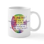 Art Painting Exposed Mug