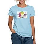 Art Painting Exposed Women's Light T-Shirt