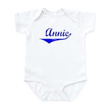 Annie Vintage (Blue) Infant Bodysuit