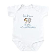 Life is full of Challenges Infant Bodysuit