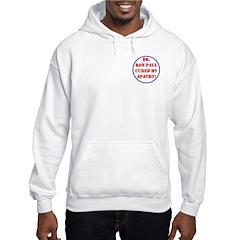 Ron Paul cure-2 Hooded Sweatshirt