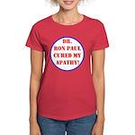 Ron Paul cure-2 Women's Dark T-Shirt