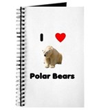 I Love Polar Bears Journal