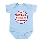 Ron Paul cure-2 Infant Bodysuit