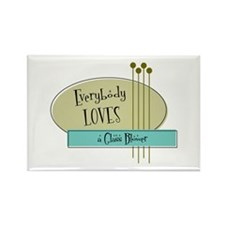 Everybody Loves a Glass Blower Rectangle Magnet