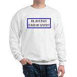 Ron Paul cure-1 Sweatshirt