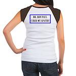 Ron Paul cure-1 Women's Cap Sleeve T-Shirt