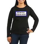 Ron Paul cure-1 Women's Long Sleeve Dark T-Shirt