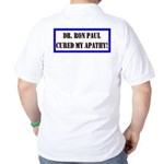 Ron Paul cure-1 Golf Shirt