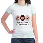 Peace Love Chemistry Jr. Ringer T-Shirt