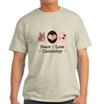 Peace Love Chemistry Light T-Shirt