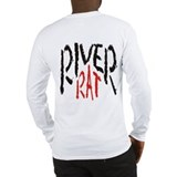 Poker River Rat Long Sleeve T-Shirt