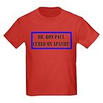 Ron Paul cure-1 Kids Dark T-Shirt