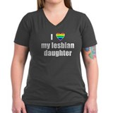 I Love My Lesbian Daughter Shirt