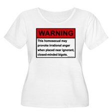Homosexual Warning T-Shirt