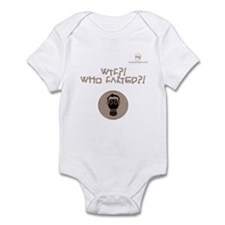 WTF?! Who FARTED?! Gas Mask Infant Bodysuit