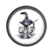 Ball Of Fur  Wall Clock