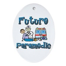 Future Paramedic Oval Ornament