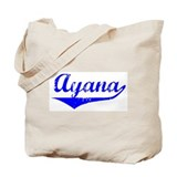 Ayana Vintage (Blue) Tote Bag