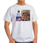 RONALD WILSON REAGAN Ash Grey T-Shirt