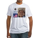 RONALD WILSON REAGAN Fitted T-Shirt