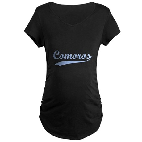 Vintage Congo Retro Maternity Dark T-Shirt
