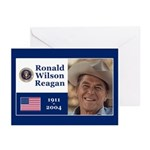 RONALD WILSON REAGAN Greeting Cards (Pk of 10)