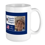 RONALD WILSON REAGAN Large Mug