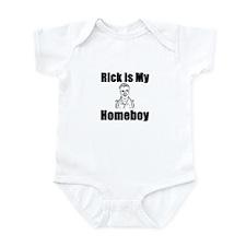 Rick is my Homeboy Infant Bodysuit