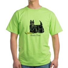 Scottish Terrier Holiday Dog T-Shirt