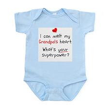 Melt Grandpa's Heart Infant Bodysuit